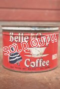 dp-200301-13 BELL CUP Coffee / Vintage Tin Can