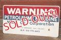 dp-200301-49 Mobil Oil Corporation / WARNING Sign
