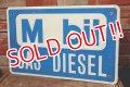 dp-200301-50 Mobil / GAS DIESEL Sign