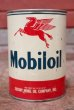 画像2: dp-200301-66 Mobiloil / 1950's 1QT Oil Can (B) (2)