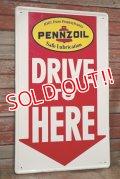 dp-200301-57 PENNZOIL / 1966 Metal Sign