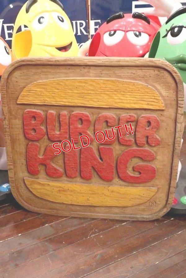 画像1: dp-200301-55 BURGER KING / 1970's Store Sign