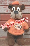 ct-200403-60 A&W / Great Root Bear 1974 Plush Doll