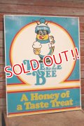 dp-200301-01 Freeze Bee / Vintage Double Sided Sign