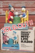 ct-200401-22 Mickey Mouse & Donald Duck / 1970's Nite-Lite Radio