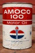 dp-200403-20 AMOCO / Amoco 100 1QT Motor Oil Can (A)