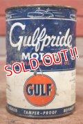 dp-200403-16 GULF / 1940's-1950's Gulfpride 1QT Motor Oil Can