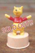 ct-121211-06 Winnie the Pooh / Kohner Bros 1970's Mini Push Puppet