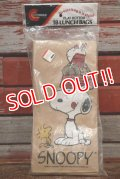 ct-191211-31 Snoopy / 1980's Paper Lunch Bags