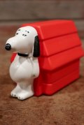 ct-141002-14 Snoopy and Doghouse / AVON 1970's Non-Tear Shampoo Bottle