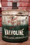 dp-200510-02 VALVOLINE / 1950's 5 Gallons Oil Can