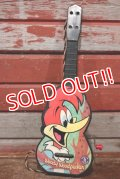 ct-200501-52 Woody Woodpecker / MATTEL 1963 Musical Box Guitar