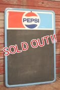dp-200510-04 PEPSI / 1970's Menu Board Sign