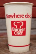 dp-131008-05 Burger Chef / 1970's Wax Cup (M)