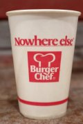 dp-131008-04 Burger Chef / 1970's Wax Cup (S)