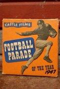 ct-200501-54 CASTLE FILMS / 1947 FOOTBALL PARADE