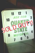 dp-200510-15 Quaker State / 1960's Light Up Sign Clock