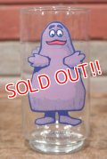 "gs-200501-16 McDonald's / 1970's Collector Series ""Grimace"" Glass"