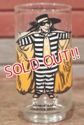 "gs-200501-17 McDonald's / 1970's Collector Series ""Hamburglar"" Glass"