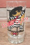 "gs-200501-19 McDonald's / 1977 Action Series ""Hamburglar"" Glass"
