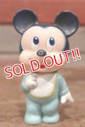 ct-131022-21 Baby Mickey Mouse / 1980's-1990's Squeaky Doll