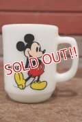 kt-200501-16 Mickey Mouse / Anchor Hocking 1980's 9oz Mug
