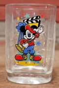 "ct-200401-07 Disney × McDonald's / 2000's Millennium Glass ""Disney STUDIOS"""