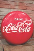 dp-200601-03 Coca Cola / 1950's-1960's Button Sign