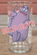"gs-200601-01 McDonald's / 1977 Action Series ""Grimace"" Glass"