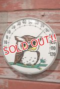 ct-200601-41 Vintage Owl Thermometer