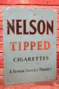 dp-200610-04 NELSON TIPPED CIGARETTE / 1950's Metal Sign