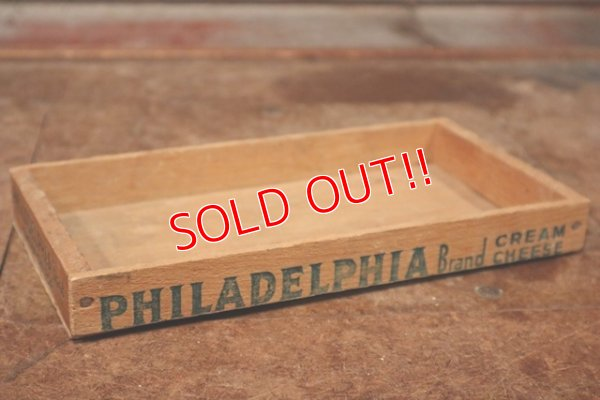 画像1: dp-200610-09 Philadelphia Brand / Vintage Cheese Box