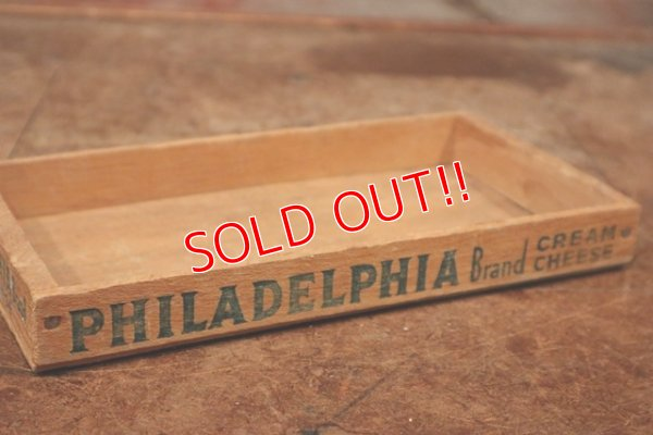 画像2: dp-200610-09 Philadelphia Brand / Vintage Cheese Box