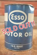 dp-200701-46 Esso / 1962〜1966 1QT Motor Oil Can