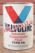 dp-200701-30 VALVOLINE / TYPE FA 1QT Motor Oil Can