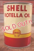 dp-200701-41 SHELL / ROTELLA OIL 1QT Motor Oil Can