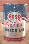 dp-200701-44 Esso / EXTRA 1961 1QT Motor Oil Can