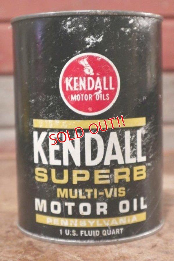 画像1: dp-200701-28 KENDALL / 1QT Motor Oil Can