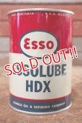 dp-200701-47 Esso / ESSOLUBE HDX 1961 1QT Motor Oil Can