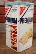 dp-200701-52 Nabisco / Premium Saltine Crackers 1970's Tin Can