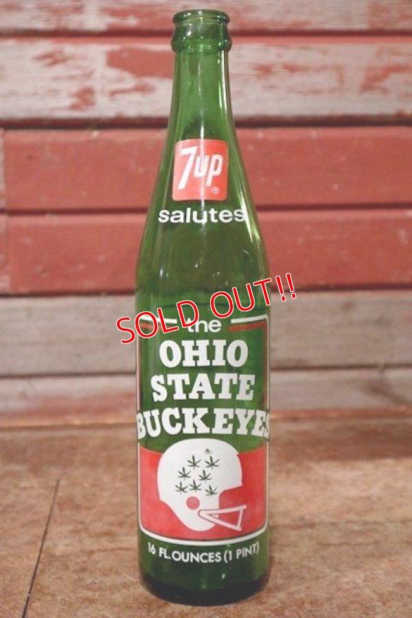 画像1: dp-200701-49 7up / OHIO STATE BUCKEYES 1970's Bottle