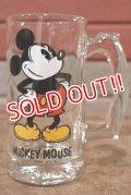 gs-200801-01 Mickey Mouse / 1980's Beer Mug