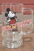 gs-200801-07 Mickey Mouse / 1970's Beer Mug