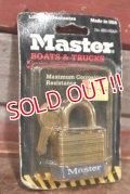 dp-200801-14 Master / Vintage Padlock