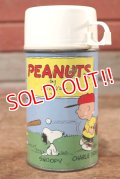 ct-200701-46 PEANUTS / THERMOS 1970's Water Bottle