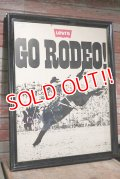 "dp-200801-29 Levi's / ""GO RODEO!"" 1978 Poster"