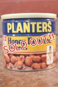 ct-208001-20 PLANTERS / MR.PEANUT 1980's Honey Roasted Peanut Can