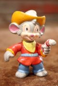 ct-140211-58 An American Tail: Fievel Goes West / Fievel Mousekewitz 1991  PVC