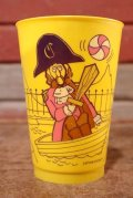 ct-200901-11 McDonald's / Captain Crook 1970's Action Series Plastic Cup