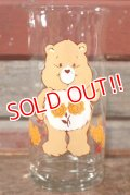 "gs-200901-07 Care Bears / 1983 Pizza Hut ""Friend Bear"" Glass"